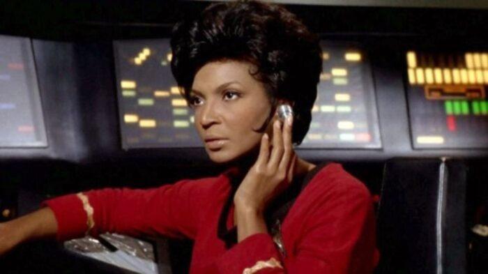 Nichelle Nichols as Communications Officer Nyota Uhura (1966-1991)