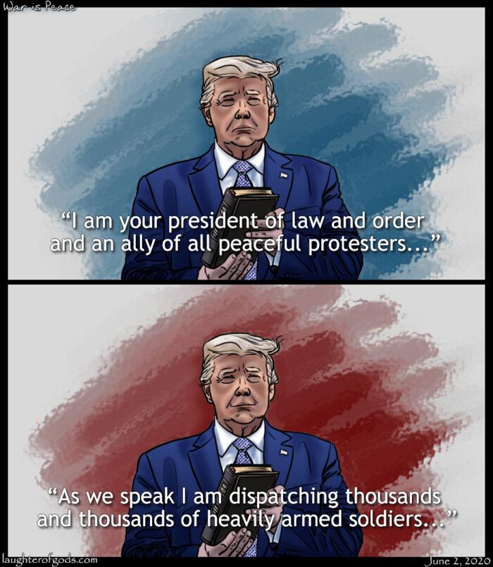 Orwellian Trump